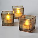 billige Neglesett-marmor mønster farge trykk glass lysestake skrivebord dekorasjon bryllup dekorasjon