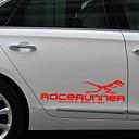 billige Automotive Kroppsdekorasjon og beskyttelse-1pair 3d dinosaur totem dekorasjon reflekterende dekaler bil klistremerker styling decal