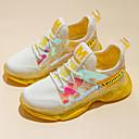 זול חליפות רטובות,חליפות צלילה וחולצות ראש-גארד-בנות נוחות Flyknit נעלי אתלטיקה ילדים קטנים (4-7) / ילדים גדולים (7 שנים +) ריצה / הליכה צהוב / ורוד אביב / סתיו / גומי