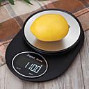 billige Vekter-5kg / 5g kjøkkenskala elektronisk presisjonsmåling verktøy balanse digitalt gram matlaging mat glass LCD-skjerm cx311-a5