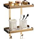 זול מוטות למגבות-צדף לחדר האמבטיה יצירתי / רב שימושי עכשווי פליז 1pc מותקן על הקיר