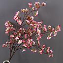 Χαμηλού Κόστους Ψεύτικα Λουλούδια & Βάζα-Ψεύτικα λουλούδια 1 Κλαδί Μονό Σύγχρονη Σύγχρονη Γάμος Άνθος Κερασιάς Λουλούδι για Τραπέζι