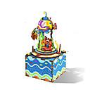 ราคาถูก กล่องดนตรี-น่ารัก ของเล่นแปลก ๆ การจำลอง โดม วันหยุด Fairytale Theme เมือง / ธง 2 pcs สำหรับเด็ก วัยรุ่น ทั้งหมด Toy ของขวัญ
