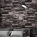 cheap Wallpaper-Wallpaper ABS+PC Wall Covering - Adhesive required 3D