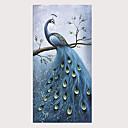 povoljno Slike krajolika-Hang oslikana uljanim bojama Ručno oslikana - Pejzaž Apstraktni pejsaži Klasik Tradicionalno Bez unutrašnje Frame