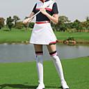 Χαμηλού Κόστους Ρούχα του γκολφ-Γυναικεία Φούστες Φανέλα Ρούχα σύνολα Κοντομάνικο Golf Τρέξιμο Προπόνηση Ένδυση γυμναστικής και άθλησης ΕΞΩΤΕΡΙΚΟΥ ΧΩΡΟΥ Φθινόπωρο Άνοιξη Καλοκαίρι / Βαμβάκι / Μικροελαστικό / Αναπνέει