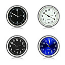 baratos Gadgets de Interior Personalizáveis para Carros-carro ornamento relógio automotivo relógio automático automóveis decoração interior stick-on relógio ornamentos acessórios
