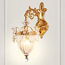 זול פמוטי קיר-ZHISHU יצירתי / איפור רטרו / מסורתי / קלסי מנורות קיר סלון / פנימי נחושת אור קיר 110-120V / 220-240V 5 W