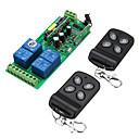 billige Smartbrytere-smart switch ak-rk04s-220 + ak-hd04 for stue / soverom / daglig kreativ / multifunksjon / enkel å installere trådløs fjernkontroll 220 v / 170-240 v / 100-240 v