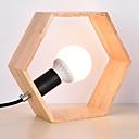 baratos Luminárias de Mesa-Contemporâneo Moderno Novo Design Luminária de Mesa Para Quarto / Quarto de Estudo / Escritório Madeira / Bambu 220V