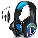 billige Gaming-gaming headset xbox one ps4 hodetelefoner spill hodetelefoner med led lyser stereo spill hodetelefoner 3,5 mm kablet øreplugger for pc mac