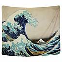 זול שטיחי קיר-נושא חוף / נושא קלאסי קיר תפאורה פּוֹלִיאֶסטֶר / 100% פוליאסטר בוהמיה / מודרני וול ארט, קיר שטיחי קיר תַפאוּרָה