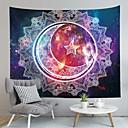 billige Wall Tapestries-Sommerfugl Tema / Bohem Tema Veggdekor 100% Polyester Middelhavet / Bohem Veggkunst, Veggtepper Dekorasjon