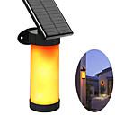 billige Sykkellykter og reflekser-ledet hage sollys utendørs 3 modus LED sol lampe flammevegg 2835smd vanntett mørk sensor for verftet benk banebane camping