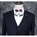 זול אביזרים לגברים-עניבת פפיון - אחיד / קולור בלוק מסיבה / פעיל בגדי ריקוד גברים / יוניסקס