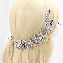billige 3D gardiner-Strå / Legering Hodetkjede med Strå 1 Deler Bryllup Hodeplagg