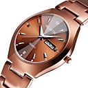 זול שעונים-בגדי ריקוד גברים שעון מכני קווארץ מתכת אל חלד עמיד במים אנלוגי אופנתי