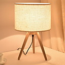 billige Ekspansjonskort-Moderne Moderne Nytt Design Bordlampe Til Soverom / Leserom / Kontor Tre / Bambus 220V
