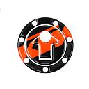 זול חלקים לאופנועים וג'יפונים-רפלקטיבית 3d אופנוע מדבקה דלק שמן טנק כרית מגן הדבקת מגן עבור ktm duke390 13-14 / duke200 12-14 אביזרים