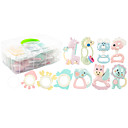 זול ניקוז-צעצוע לאמבטיה צעצועים מוזרים אינטראקציה בין הורים לילד גוּמִי ג'ל סיליקה ילדים לילד כל צעצועים מתנות 8 pcs