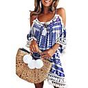 זול מגפי נשים-כתפיה מעל הברך שמלה טוניקה בוהו בגדי ריקוד נשים
