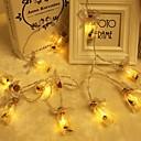 povoljno LED svjetla u traci-2m mali željom boca string svjetla 10 leds božić zahvalnosti party odmor dekor toplo bijelo aa baterije powered 1 set