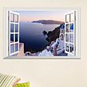 billige Utendørs Vegglamper-Dekorative Mur Klistermærker - 3D Mur Klistremerker Landskap / 3D Stue / Soverom / Kjøkken / Kan Omposisjoneres