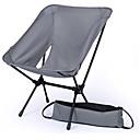 ราคาถูก เข็มกลัด-BEAR SYMBOL เก้าอี้ตกปลา Camping Folding Chair กับกระเป๋าด้านข้าง Portable กันน้ำฝน ป้องกันการลื่นล้ม น้ำหนักเบาพิเศษ (UL) ผ้าออกซ์ฟอร์ด 7075 อลูมิเนียม สำหรับ 1 คน การตกปลา การเดินเขา แคมป์ปิ้ง