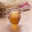 Χαμηλού Κόστους Κούπες & Φλυτζάνες-drinkware Κούπα Υψηλό γυαλί βορίου Θερμομονωτικά / φίλη δώρο / Cute Γάμου / Δώρο