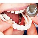 Χαμηλού Κόστους Στοματική υγιεινή-λεύκανση snap τέλειο χαμόγελο δόντια ψεύτικο κάλυμμα δοντιών στο χαμόγελο στιγμιαία δόντια καλλυντικά φροντίδα οδοντοστοιχίας για το ανώτερο ένα μέγεθος ταιριάζει