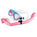 זול סבון כלים-חבילות שנורקל - מסכת צלילה שְׁנוֹרקֶל - נגד ערפל שחייה צלילה שנרקול סיליקון  ל ילדים