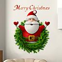 זול מחטים לאיפור קבוע-סנטה קלאוס מדבקות קיר - מילים&אמפר ציטוטים קיר מדבקות תווים חדר לימוד / משרד / חדר אוכל / מטבח