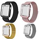 Χαμηλού Κόστους Smart Wristbands-smartwatch ζώνη για μήλο ρολόι σειρά 4/3/2/1 μήλο μιλάς βρόχο ανοξείδωτο χάλυβα ζώνη σιλικόνης περιπτώσεις iwatcht ιμάντα