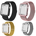 billige Smart armbånd-smartwatch band for apple watch serie 4/3/2/1 apple milanese loop rustfritt stål band silikon tilfeller iwatcht stropp