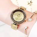 billige Penner & Skriver-nye soxy damer stål belte se runde urskive hul mønster design kjole ur