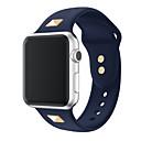 billiga Danskläder till balett-Klockarmband för Apple Watch Series 4/3/2/1 Apple Sportband Silikon Handledsrem