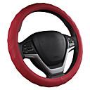 זול כיסויים להגה-כיסוי גלגל הגה לרכב אנכי נגד החלקה קעור ו קמור גל אנכי // שחור / סגול / אדום / בז '/ אפור / כיסוי הגה ארבע עונות