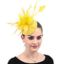 cheap Party Headpieces-Ladies Vintage Trendy Elegant Feather Wedding Party Evening - Solid Colored