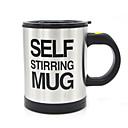 זול חלקים לאופנועים וג'יפונים-400ml ספל מבושל עצמי כפול מבודדת אוטומטית כוס קפה חשמלי