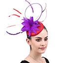 povoljno Naušnice-dame Jednobojni Vintage pomodan Elegantno Perje