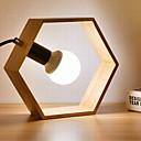billige Ekspansjonskort-Moderne Moderne Nytt Design Bordlampe Til Leserom / Kontor Tre / Bambus 220V