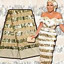 ราคาถูก African Lace-ลูกไม้แอฟริกัน สไตล์พื้นบ้าน Pattern 125 cm ความกว้าง ผ้า สำหรับ โอกาสพิเศษ ขาย โดย 5Yard