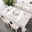 זול כיסויי שולחן-עכשווי קלסי כותנה סיבי פוליאסטר ריבוע Cube כיסויי שולחן מפות שולחן מעוטר דמות מצוירת בתלת מימד מדפיס ידידותי לסביבה עמיד במים לוח קישוטים