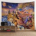 billige Wall Tapestries-Hage Tema / Klassisk Tema Veggdekor 100% Polyester Moderne Veggkunst, Veggtepper Dekorasjon