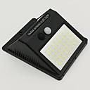 ราคาถูก ไฟLEDแสงอาทิตย์-2pcs 8 W โคมไฟติดผนังพลังงานแสงอาทิตย์ Waterproof / พลังงานแสงอาทิตย์ / ตัวเซ็นเซอร์อินฟาเรด ขาวเย็น 3.7 V เอ๊าท์ดอร์ / ลาน / สวน 40 ลูกปัด LED