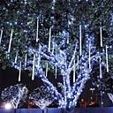 baratos Kits Faça-Você-Mesmo-LOENDE 0,2 m Barras de Luzes LED Rígidas 96 LEDs LED Dip Branco / Azul Impermeável / Festa / Decorativa 100-240 V 1conjunto