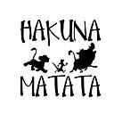 זול רכב הגוף קישוט והגנה-13.8cm * 13.3cm hakuna matata אריה המלך simba מכונית סטיילינג ויניל מכונית מדבקה