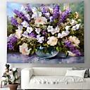 זול גאדג'טים לאמבט-נושא קלאסי קיר תפאורה 100% פוליאסטר מודרני וול ארט, קיר שטיחי קיר תַפאוּרָה