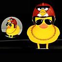 billige Bidetkraner-Sykkelklokke Frontlys til sykkel Gult, lite Duck Shape Vanntett Lettvekt Shining Stretch Holdbar til Vei Sykkel Fjellsykkel Sykling silica Gel Rød Blå Grå 1 pcs