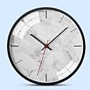 ราคาถูก นาฬิกาติดผนัง-สมัยใหม่ร่วมสมัย อะคริลิค รอบ ในที่ร่ม / กลางแจ้ง